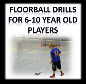 6-10 floorball drills and practices