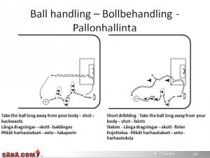6-10 stick handling in floorball