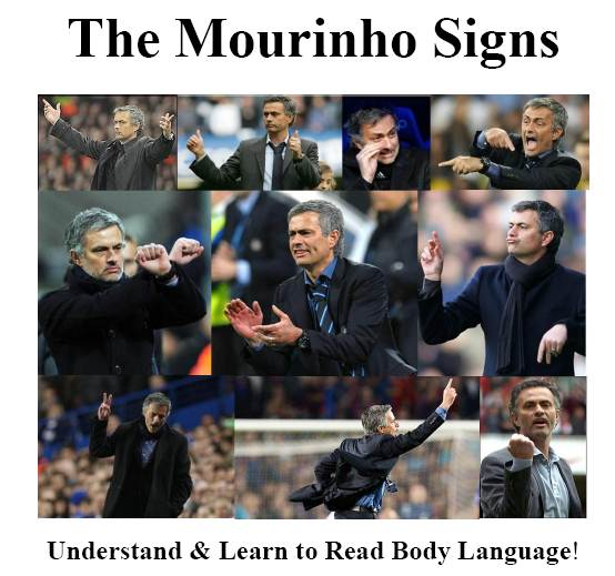 The José Mourinho Signs - Learn to understand body language