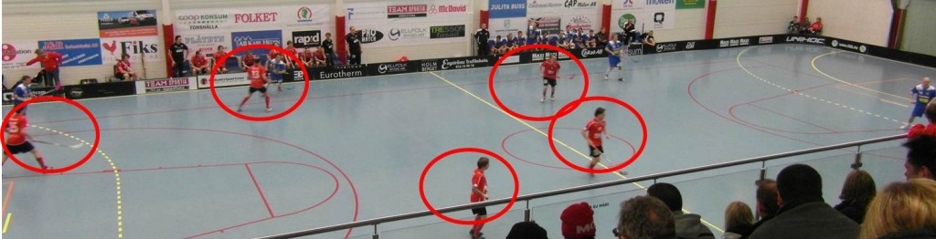 1-2-2 in Floorball
