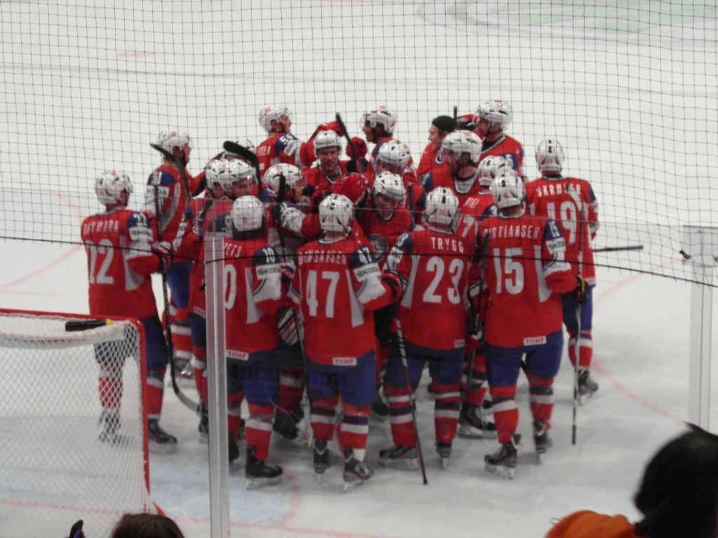 Team Norway Hockey, Victory over Latvia during World Championships 2012