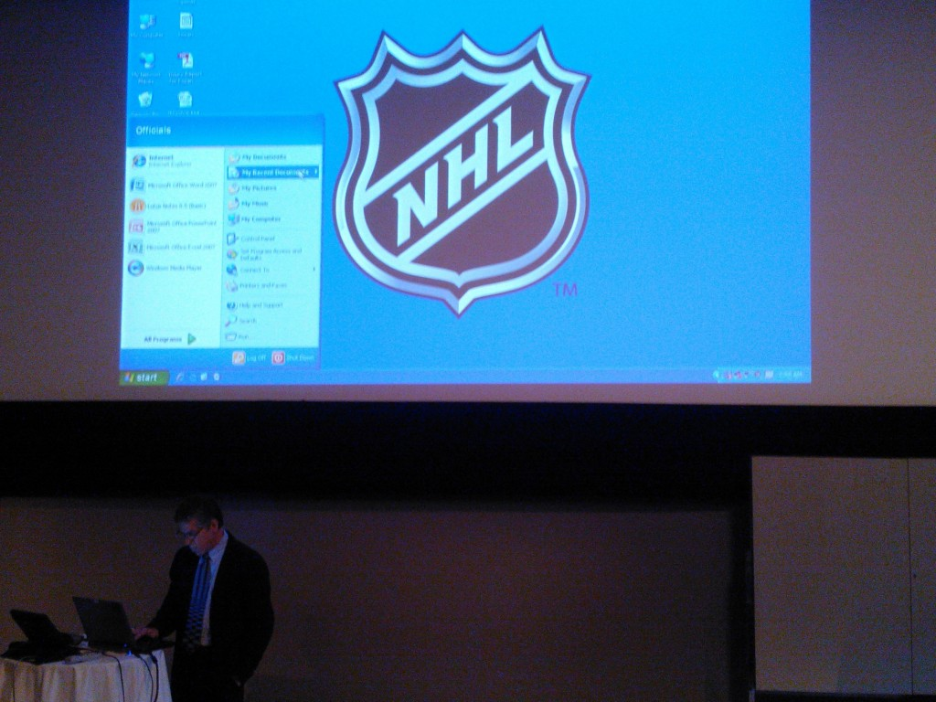 Dave Smith, NHL-official coach