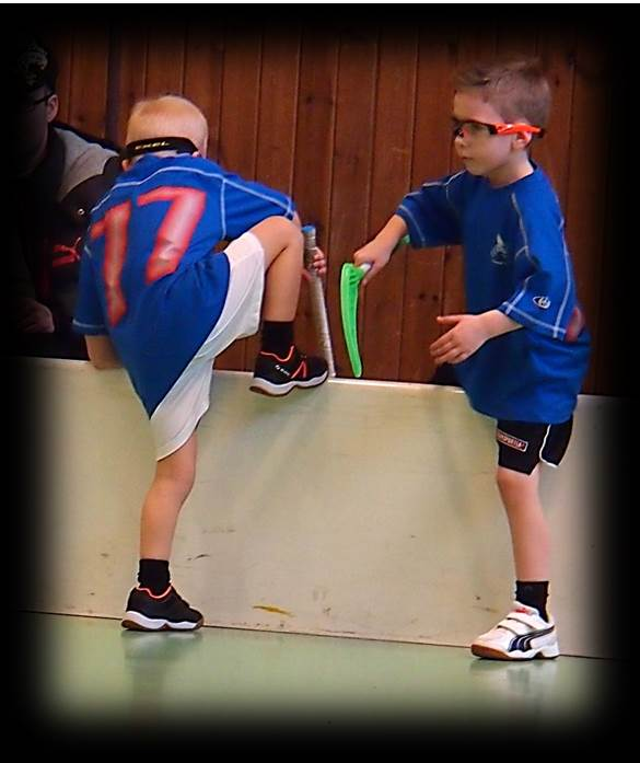 Floorball youth skill drills and practices