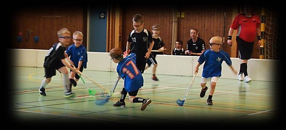 Floorball drills for 6, 7, 8, 9 and 10 year old, skills passing, running and shooting