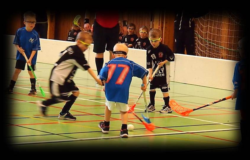 Floorball youth skills drills and practices