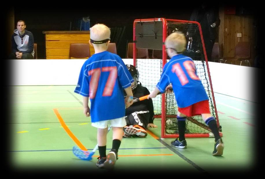 Floorball goal scoring, shooting practices and drills