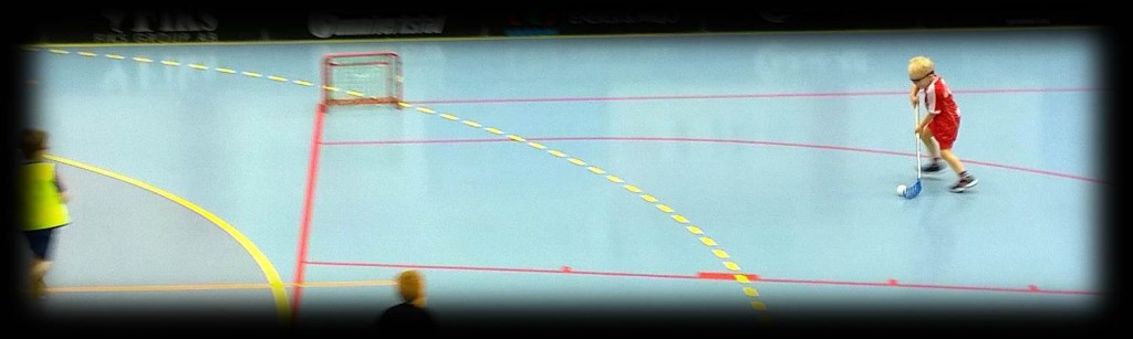 Floorball goal scoring and shooting practices