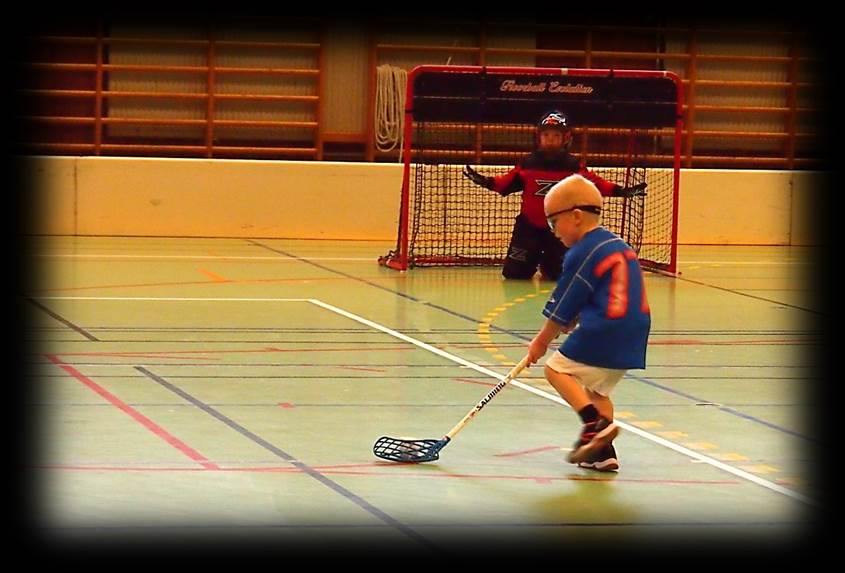 Youth Floorball shooting, goal scoring practices and drills