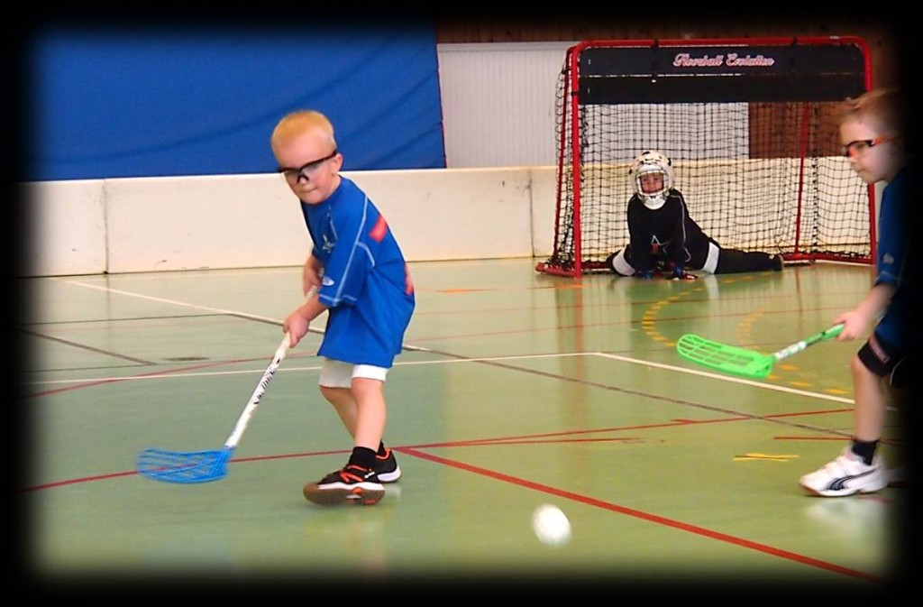 Floorball passing drills and practices