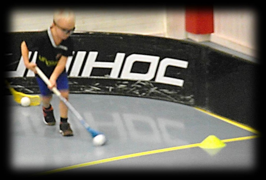 Floorball skill practice drills