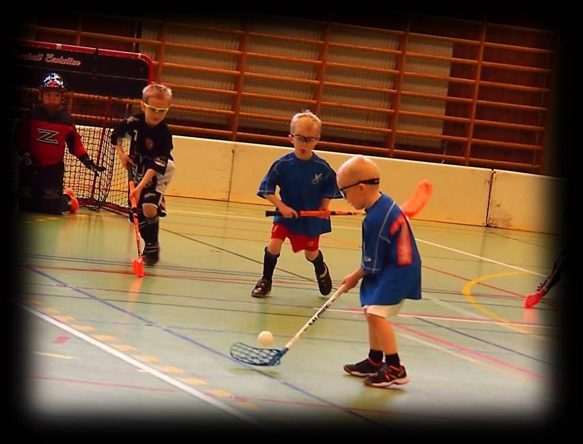 Floorball ball possesion and shooting