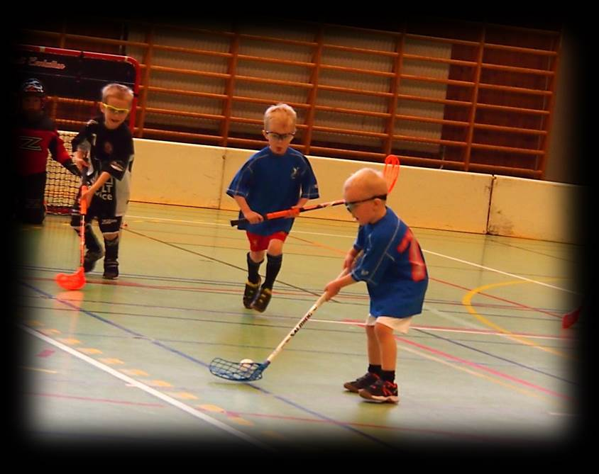Youth floorball passing and skills drills