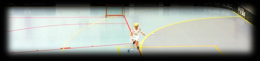 Floorball practice warm up